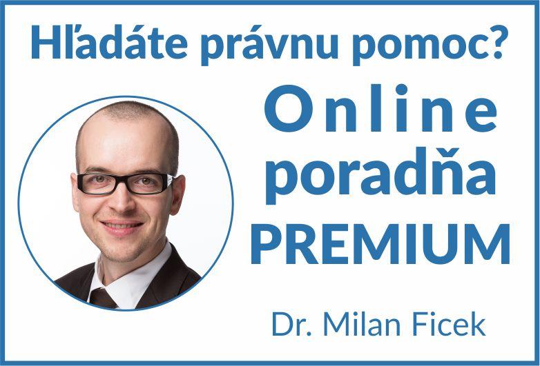 Dr. Milan Ficek - Právna poradňa